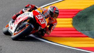 Márquez vince ad Aragón, Rossi sul podio