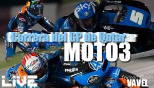 Carrera de Moto3 del GP de Qatar en vivo y en directo online