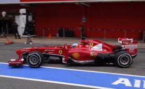 Alonso, primero en una sesión marcada por la lluvia