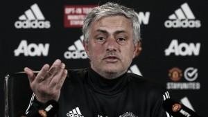 """Mourinho: """"Los jugadores están listos para el partido contra el Arsenal"""""""