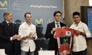 Movistar y Nairo Quintana renuevan hasta 2019