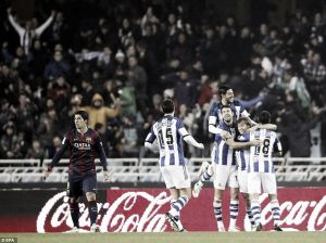 Real Sociedad 1-0 Barcelona: Sociedad stun Barca at the Anoeta