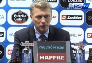 """Moyes tras su debut: """"No me voy contento con el punto, el objetivo era ganar"""""""