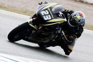 Marcel Schrotter se hace fuerte en el aguacero de Jerez
