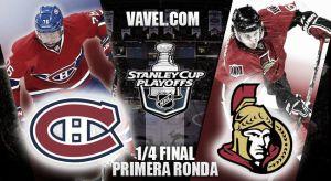 Montreal Canadiens - Ottawa Senators: sin un claro favorito