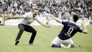 Erzgebirge Aue 3-1 Karlsruher SC: Mugosa and Fandrich shock promotion chasing KSC