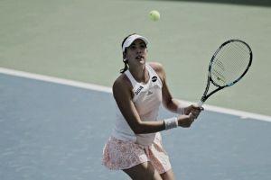 Muguruza se reune con Carla Suárez en Cuartos de Final