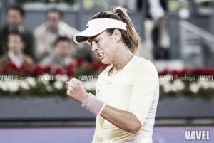"""Garbiñe Muguruza: """"Seguro que ella también se acuerda de nuestro partido en Roland Garros"""""""