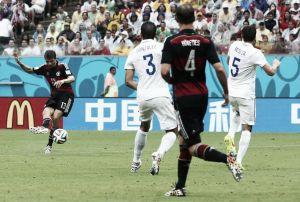 Estados Unidos - Alemania, puntuaciones de Alemania, jornada 3 grupo G