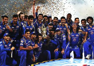 Mumbai Indians win second Indian Premier League title in three seasons