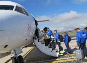 Tras un duro viaje, el Málaga regresa a casa