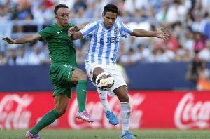 Málaga - Levante: puntuaciones del Málaga, jornada 3