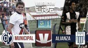 Resultado Deportivo Municipal vs Alianza Lima en Torneo Apertura (1-2)