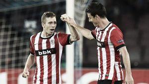 Nápoles - Athletic: puntuaciones del Athletic, ida de la previa de Champions