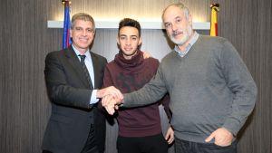 El Barça aumenta la cláusula de Munir hasta 35 millones