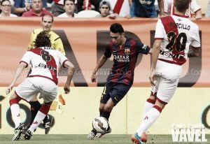 Rayo Vallecano - FC Barcelona: puntuaciones del Rayo, jornada 7 de Liga BBVA