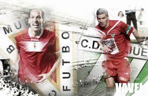 Real Murcia - CD Guijuelo: zafarrancho de miuras
