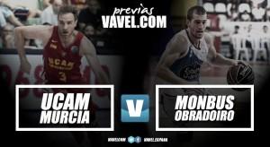 Previa UCAM Murcia - Monbus Obradorio: guardando las distancias