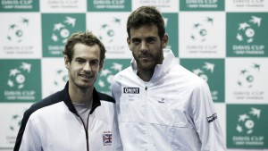Murray to face Del Potro in opening match of Davis Cup semi-final