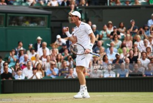 Wimbledon 2017: Murray battles past Fognini in four set classic