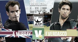 Resultado Andy Murray vs Fernando Verdasco en ATP 500 Queen's (2-0)