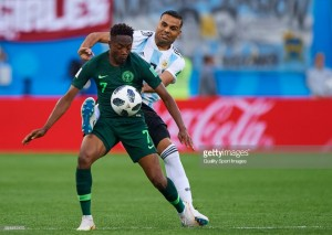 Report: Huddersfield Town chasing Ahmed Musa from Leicester City