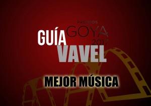 Camino a los Goya 2017: Mejor música original