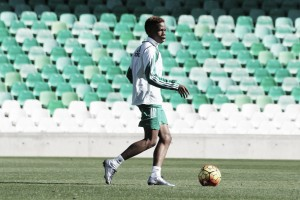 Musonda ya se ejercita con el Real Betis