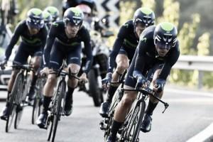 Volta a Catalunya, la Movistar vince la cronosquadre tra le polemiche. Valverde nuovo leader
