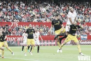 Fotos e imágenes del Sevilla FC 1-0 Atlético de Madrid de la Jornada 9 de la Primera División