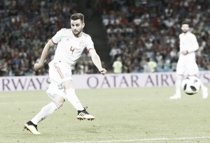 Ni el golazo de Nacho pudo con Portugal