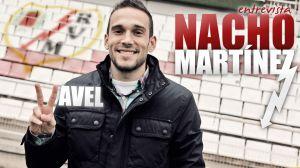 "Entrevista. Nacho Martínez: ""Tenemos claro que si no ofrecemos un buen fútbol no vamos a ganar partidos"""