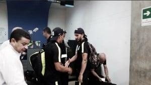 Nacional arribó a territorio argentino con la maleta llena de ilusiones