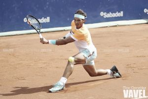 """Rafa Nadal: """"Fognini ha sido mejor que yo, no he merecido ganar el partido"""""""