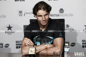 """Rafael Nadal: """"Es un gran comienzo para la temporada en arcilla"""""""
