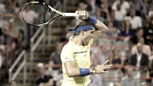 Novo líder do ranking mundial, Nadal estreia com vitória em Cincinnati