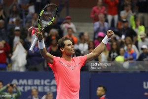 US Open 2017: Nadal comes through early test against Serbia's Dusan Lajovic