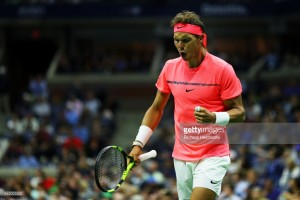 US Open 2017: Nadal battles past Mayer while Federer cruises through