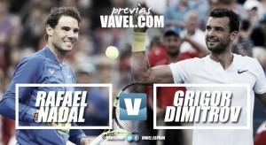 Previa Rafael Nadal - Grigor Dimitrov: doble revancha en Pekín
