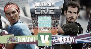 Resultado Nadal vs Murray en la final del Mutua Madrid Open 2015 (0-2)