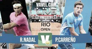 Rafa Nadal vs Pablo Carreño en vivo y en directo online en el Rio de Janeiro Open 2015