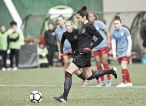 Portland Thorns win 1-0 over the Chicago Red Stars with a well placed penalty kick