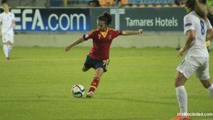 Nahikari García vuelve con la Selección