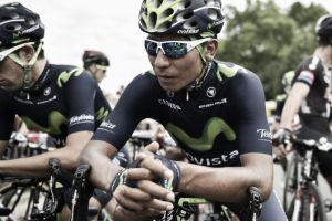 """Nairo Quintana: """"Viene mucha montaña y esperamos hacer una buena estrategia"""""""