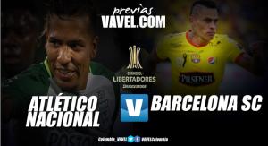 Previa Atlético Nacional Vs Barcelona SC: El campeón se despide de la Copa