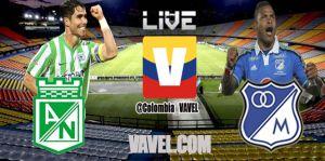 Atlético Nacional vs Millonarios, Liga Postobón en vivo online
