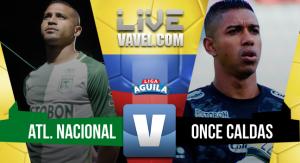 Atlético Nacional vs Once Caldas en vivo y en directo online por la Liga Águila 2017 – 1