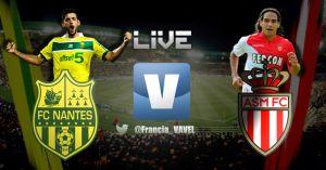 Nantes vs Mónaco en vivo y en directo online