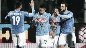 Napoli, i convocati per la sfida al Cesena