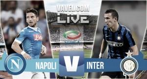 Napoli - Inter live, diretta Serie A 2015/16 (21.00)